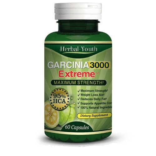 Herbal Youth Garcinia Cambogia Exteme Weight Loss Capsules