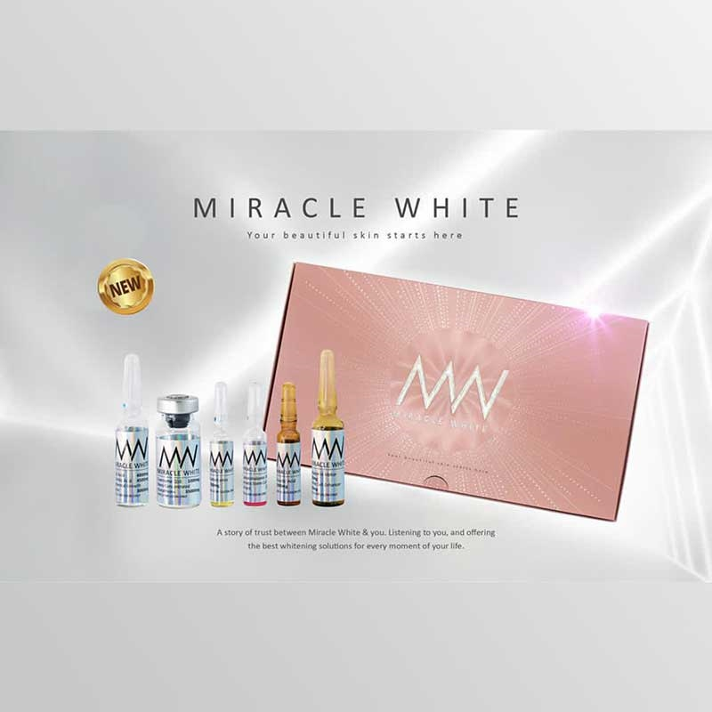 Miracle White 35000mg Glutathione Injections